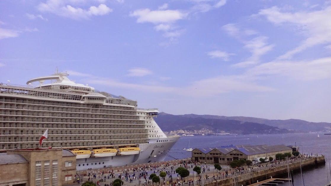 Oasis of the Seas vuelve a Vigo