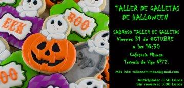 Taller de Galletas de Halloween