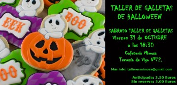 Taller de Galletas de Halloween