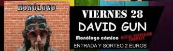Monólogo de David Gundín