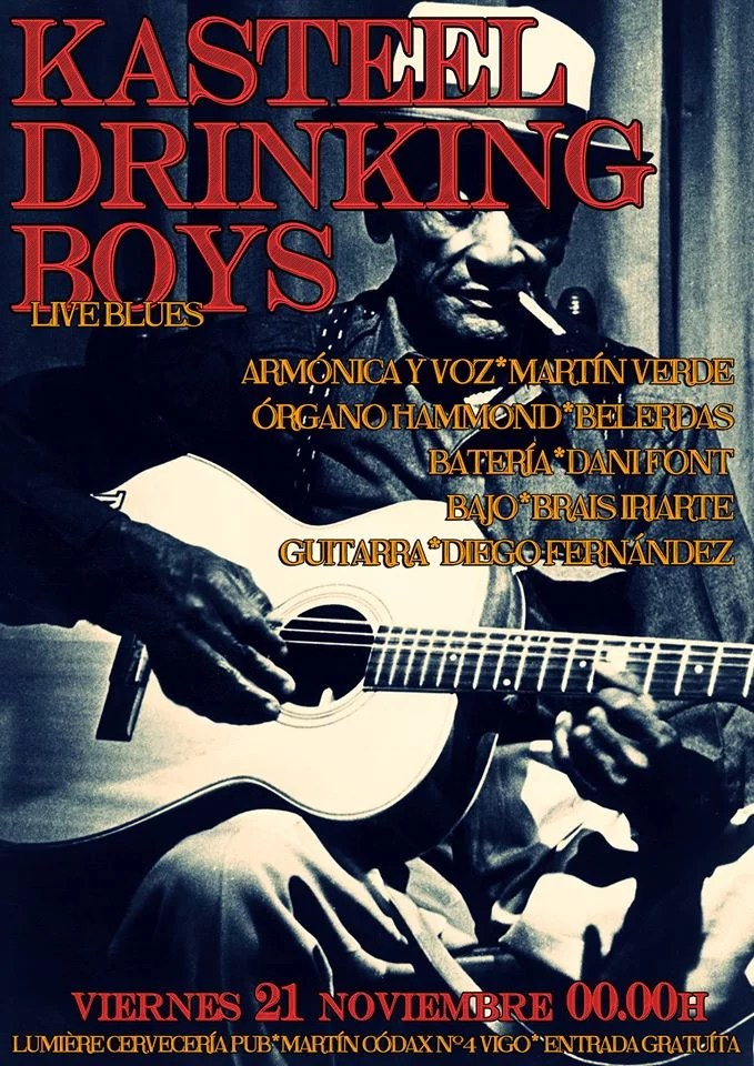 Concierto de Blues de Kasteel Drinking Boys
