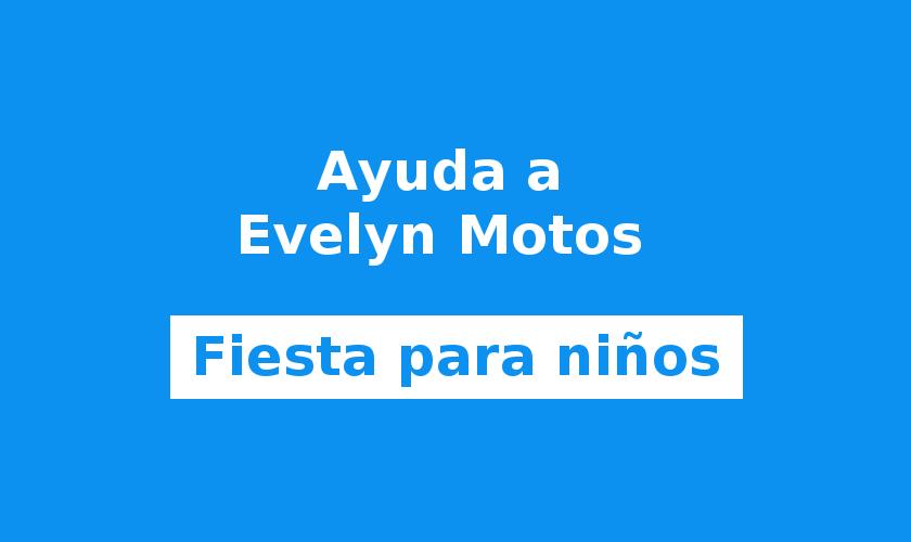 Fiesta infantil a favor de Evelyn Motos