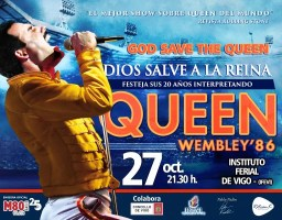 God Save The Queen en Vigo / Dios Salve a la Reina