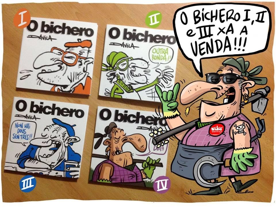 O Bichero y Luis Davila