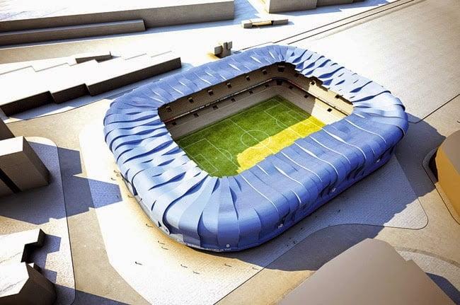 El nuevo estadio de Balaídos