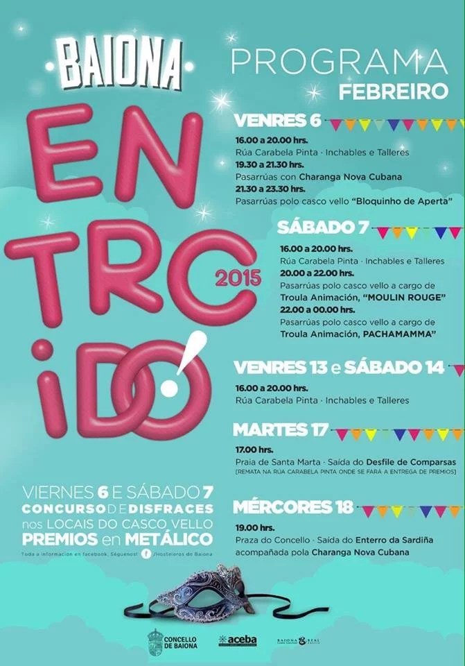 Carnaval 2015 de Baiona