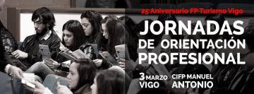 Jornadas de Orientación Profesional – FP Turismo Vigo