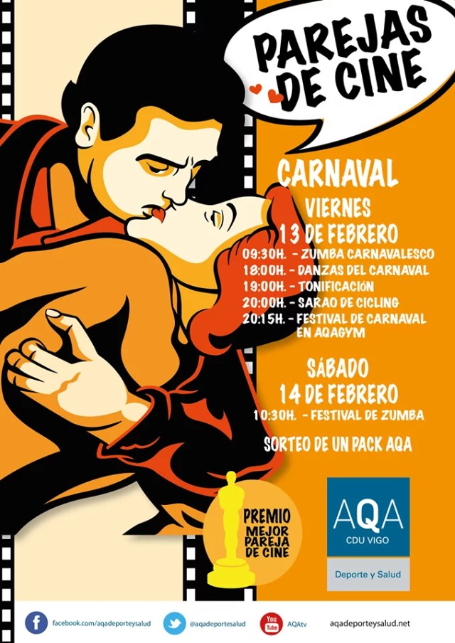 Festival de Carnaval Parejas de cine
