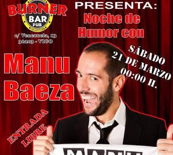 Monólogo de Manu Baeza en Vigo