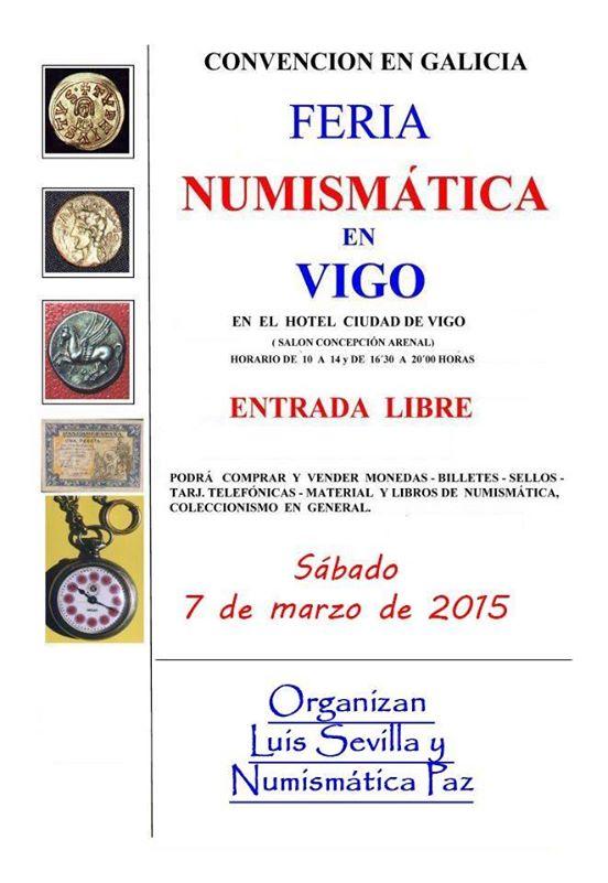Feria Numismática en Vigo