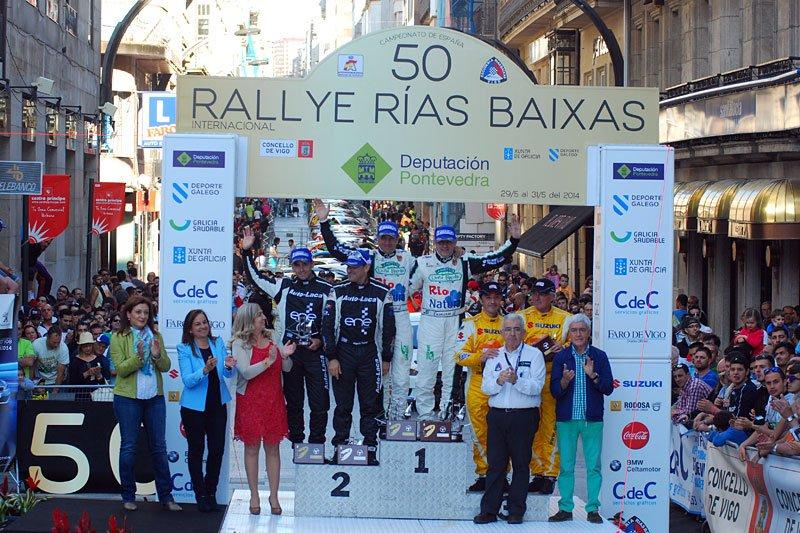 Vigo se queda sin el Rallye Rías Baixas