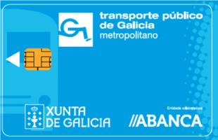 Dispoñibles as tarxetas do plan de transporte metropolitano