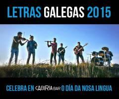 Virandeira Folk, Letras Galegas no Cabiria Bar