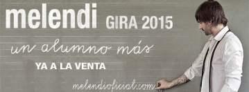 Cancelado: Concierto de Melendi en Vigo 2015