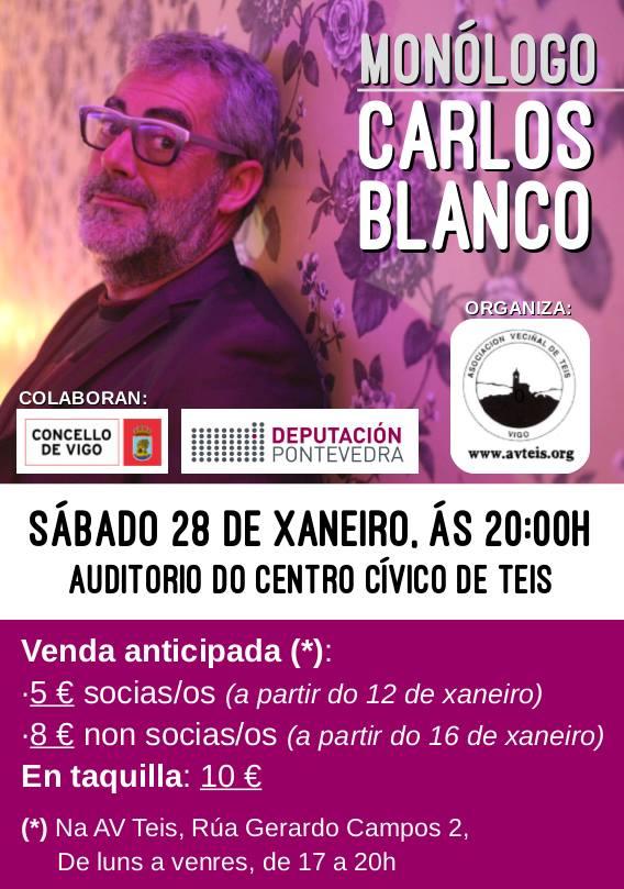 Carlos Blanco en Vigo