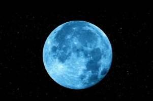Luna Azul, segunda luna llena en el mismo mes.