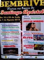 Fiestas Bembrive '15: Azúcar Moreno y Seguridad Social