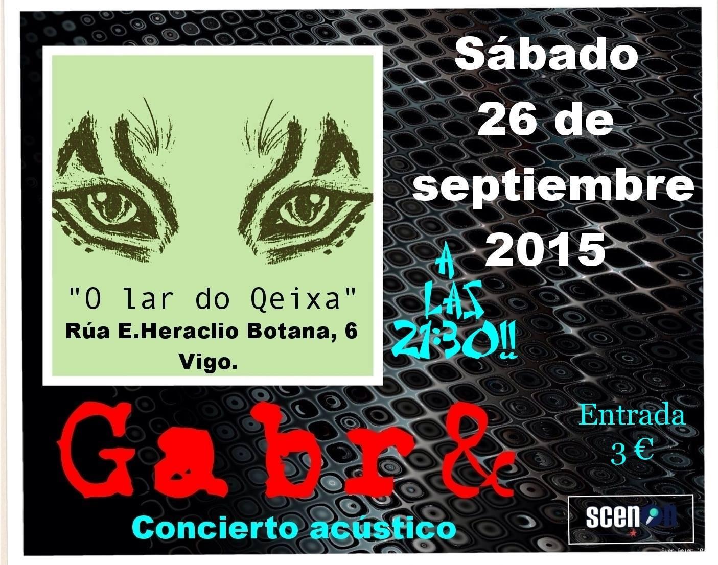 Concierto de Gabr& en O Lar do Queixa