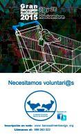 Gran Recogida Solidaria, el 27 y 28 de noviembre