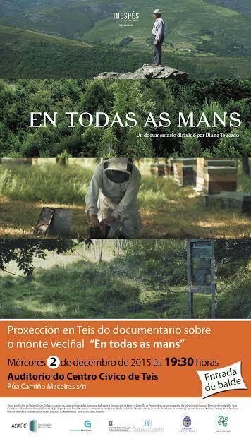 Documentario monte veciñal em Teis