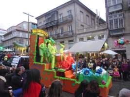 Entroido Vigo 2017: Concurso de comparsas, carrozas e disfraces