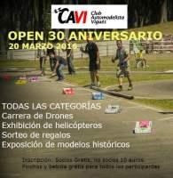 Carrera de Drones en el Aniversario de CAVI