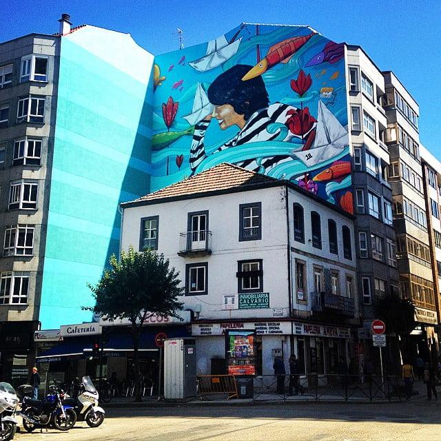 Cabalos e lobos: Paseo polo Vigo literario.