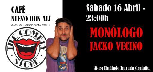 Monólogo de Jacko Vecino