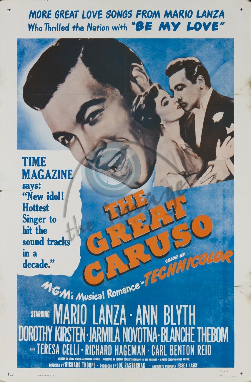 Película Gran Caruso. Segundo Ciclo de Música y Ópera.