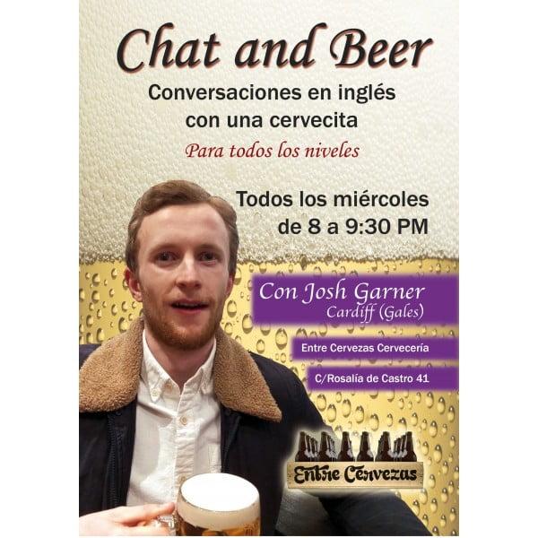 Chat & Beer, Conversaciones de Inglés entre cervezas.