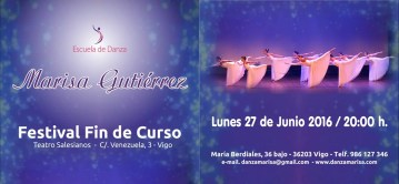 Festival de Danza Marisa Gutiérrez