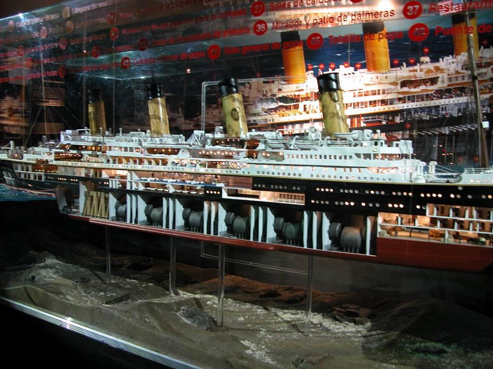 Exposición Titanic, The Reconstruction