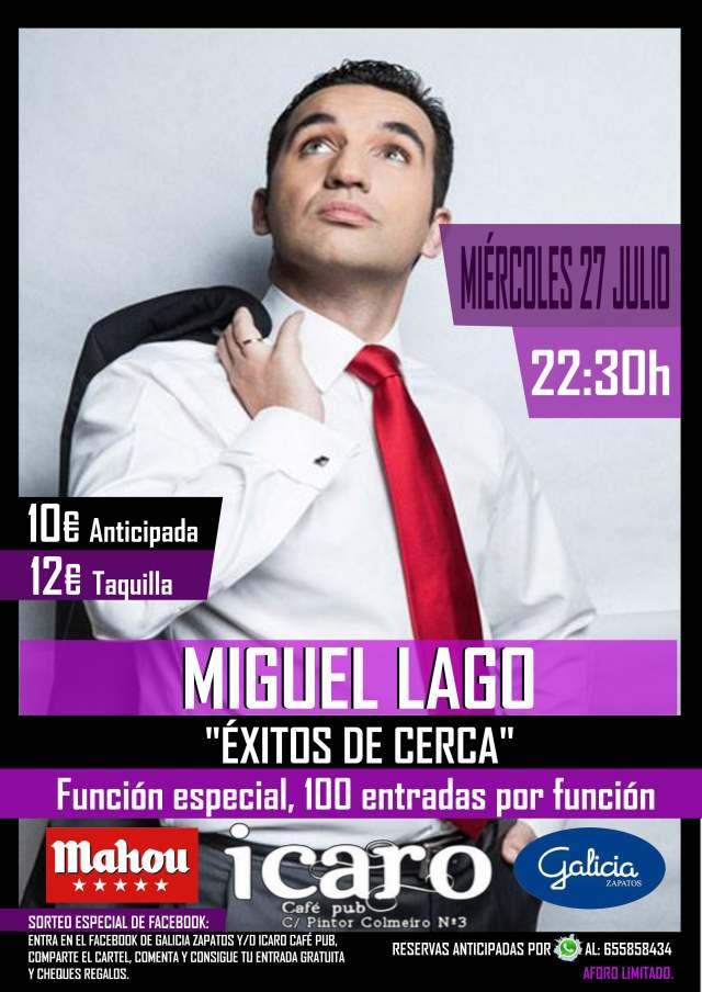 Miguel Lago en Vigo