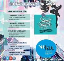 VIKUL 2016, Encuentro Internacional de Danza Urbana