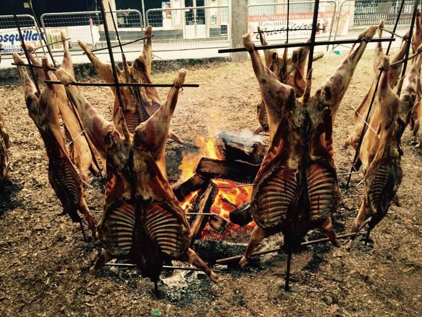 Fiesta del Carnero al Espeto de Moraña