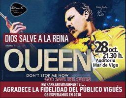 Dios salve a la Reina – Queen | Mar de Vigo