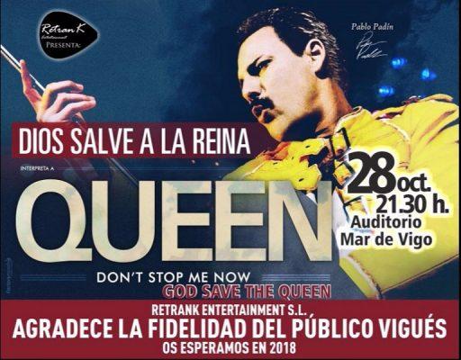 Dios salve a la Reina – Queen   Mar de Vigo