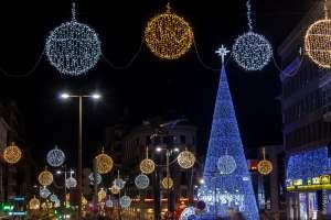 Así luce Vigo en Navidad (2016)