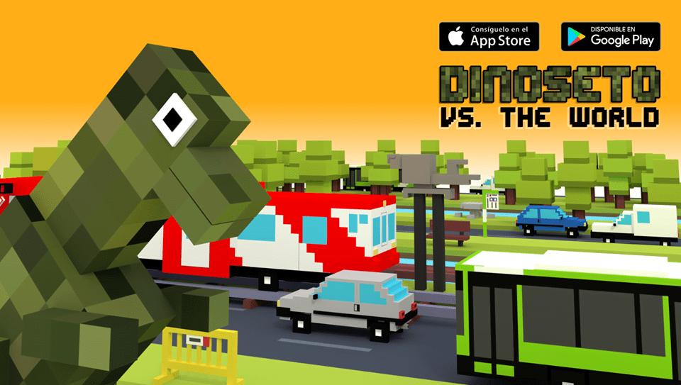 Dinoseto revive en formato 8 bits.