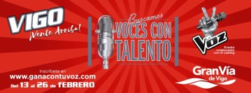 Gana con tu voz: en busca de talento en Vigo