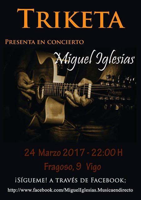 Concierto de Miguel Iglesias