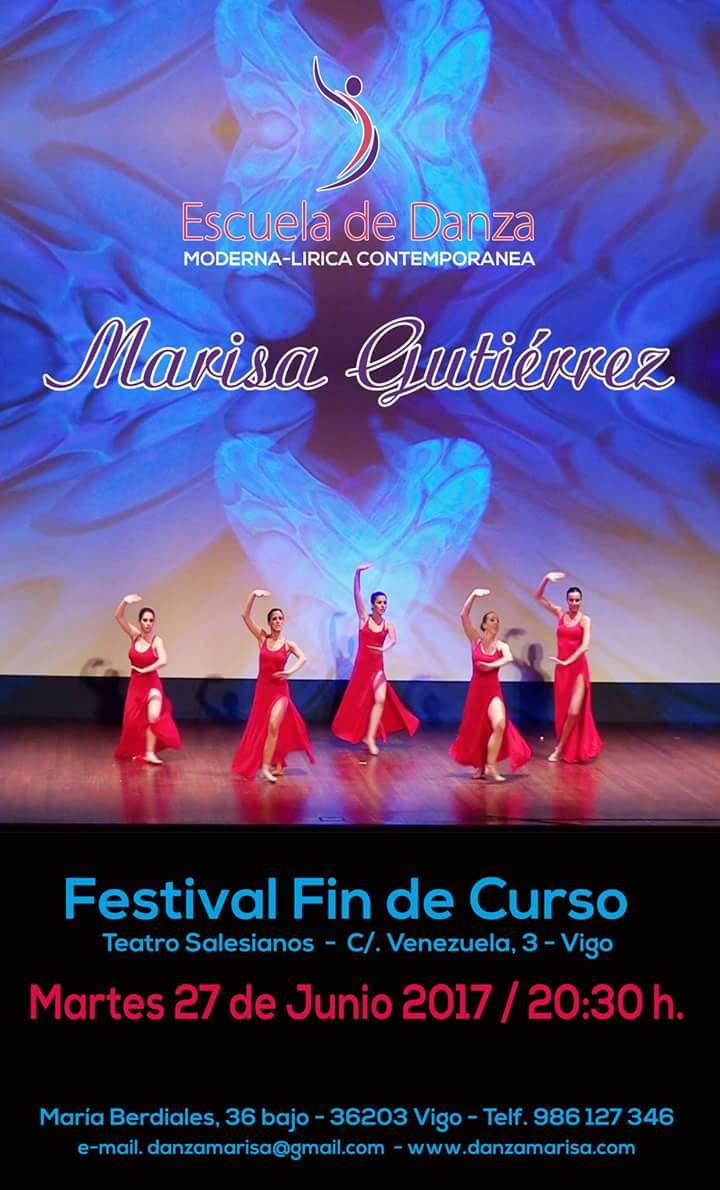 Festival fin de curso – Escuela de Danza Marisa Gutiérrez