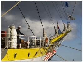 Puedes visitar el buque escuela Mircea en Vigo