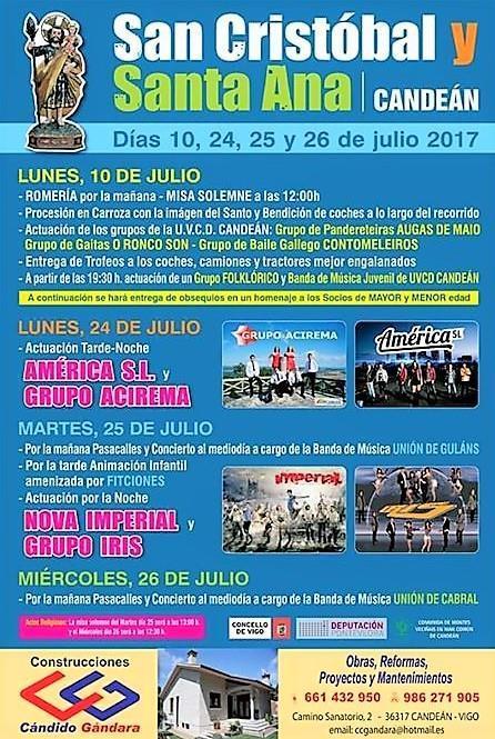 Fiestas de Candeán 2017
