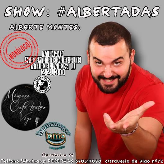 Show de humor de Alberte Montes