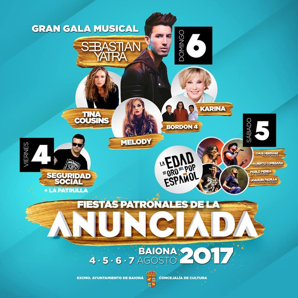 Fiesta de la Anunciada 2017   Baiona