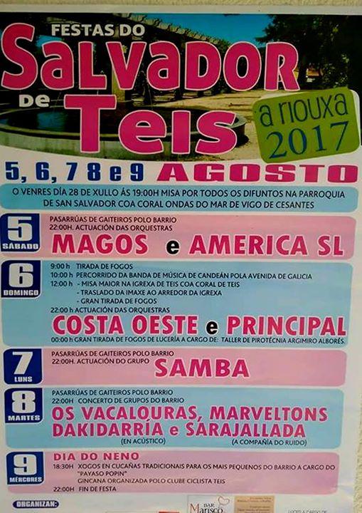 Fiesta del Salvador de Teis 2017