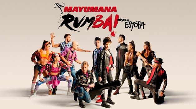 Mayumana 2017 Rumba! con Música de Estopa   Vigo