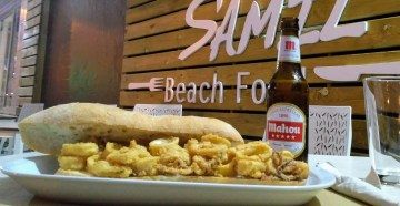 Honu Samil, café, bocatas, hamburguesas y platos combinados