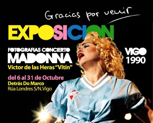 Exposición fotográfica de Madonna